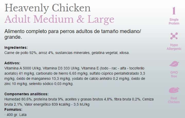 Amanova Dog Adult Med.&Large Heavenly Chicken