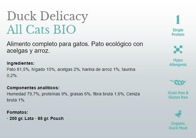 Amanova BIO Cat Duck Delicacy GRAIN FREE