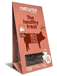 Naturea Treats for Cats Pork