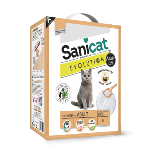 AREIA AGLOMERANTE SANICAT EVOLUTION ADULT