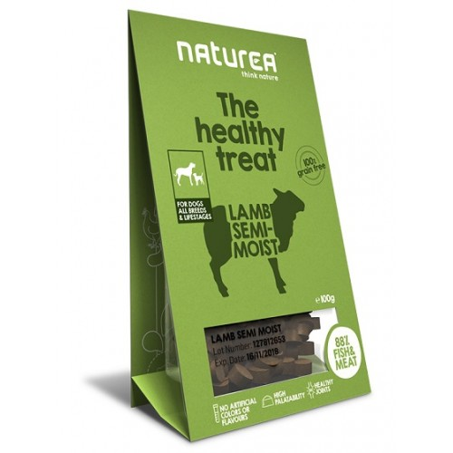 Naturea Treats for Dogs Lamb Semi-Moist