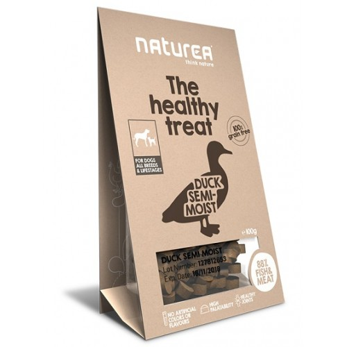 Naturea Treats for Dogs Duck Semi-Moist