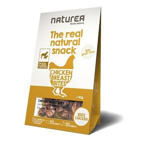 Naturea Snacks for Dogs Chicken Breat Bites