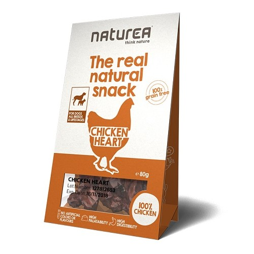 Naturea Snacks for Dogs Chicken Heart