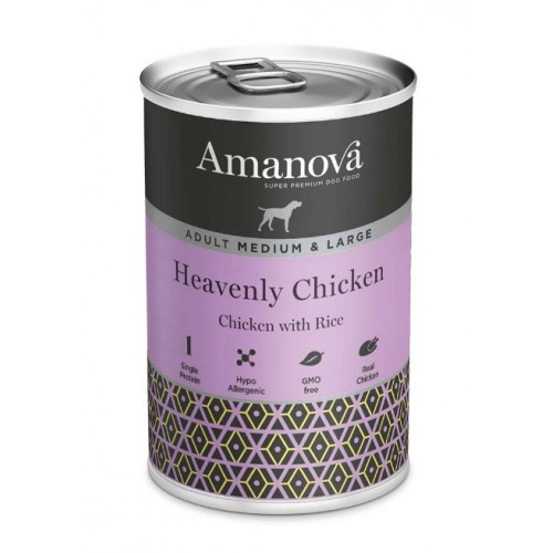 Amanova Dog Adult Med.&Large Heavenly Chicken
