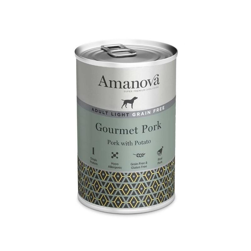Amanova Dog Adult OBESITY GRAIN FREE Pork