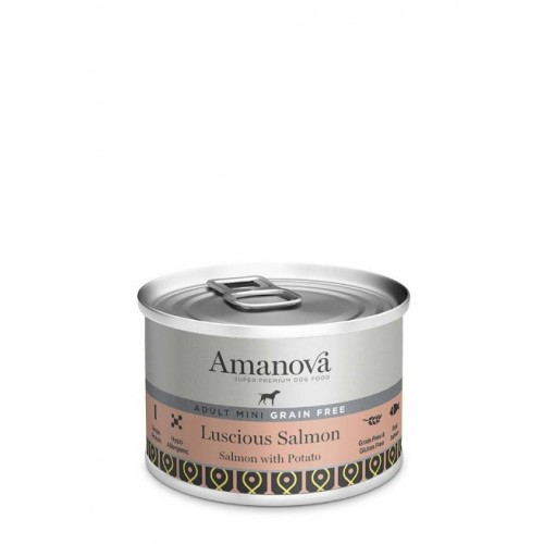 Amanova Dog Adult Mini GRAIN FREE Salmon