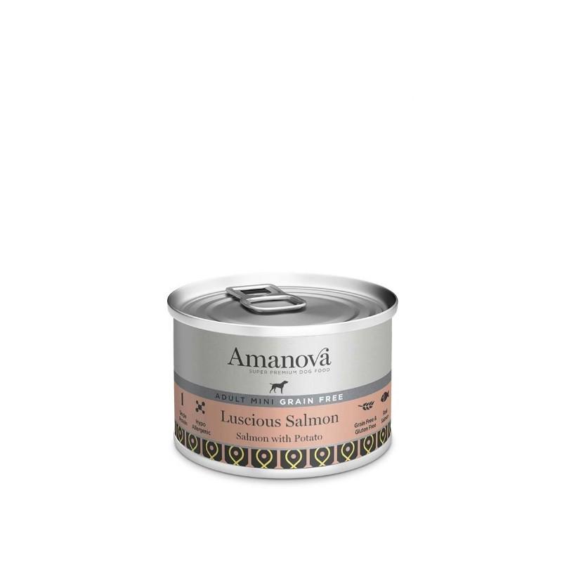Amanova Dog Adult Mini GRAIN FREE Salmon