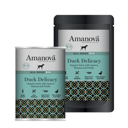 Amanova BIO Dog Duck Delicacy GLUTEN FREE