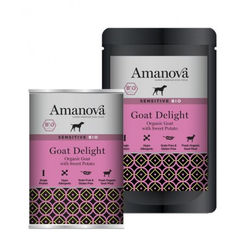 Amanova BIO Dog Goat SENSITIVE GLUTEN FREE