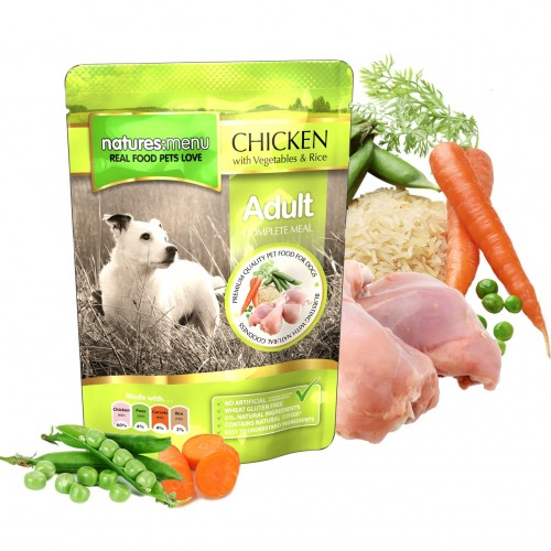 Natures Menu Dog Adult Chicken