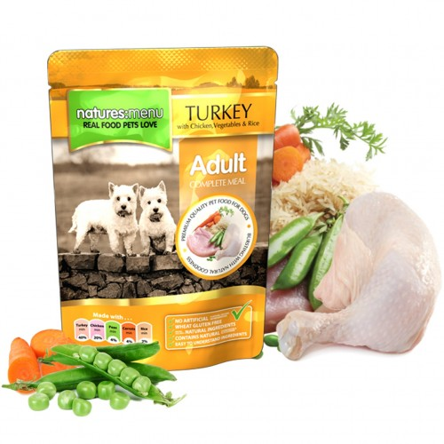 Natures Menu Dog Adult Turkey