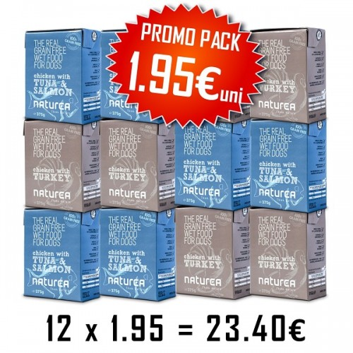 Naturea Dog WetFood Promo Pack