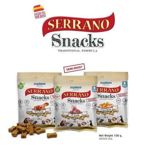 Mediterranean Natural - Serrano Snack