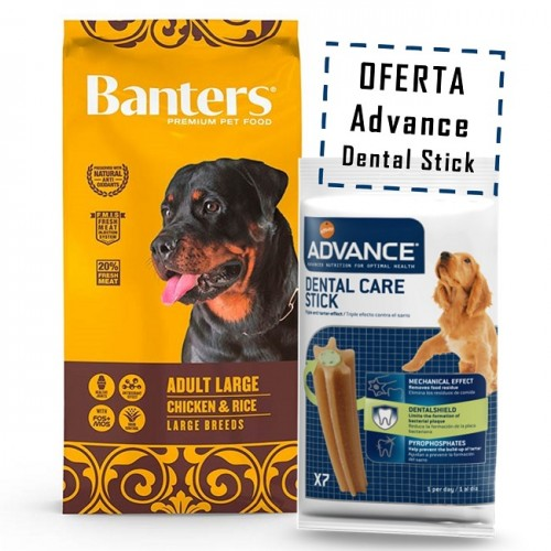 OPTIMA / BANTERS ADULT LARGE BREED 15 kg