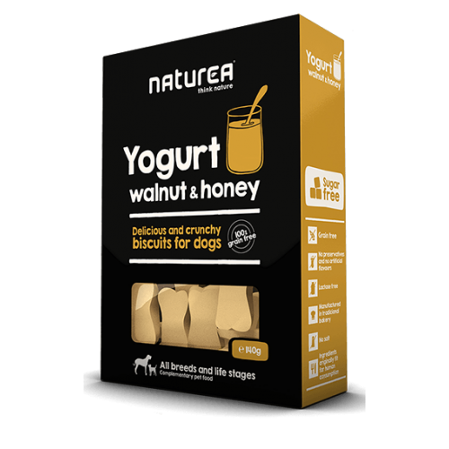 Naturea Biscuits Yogurt, Walnut & Honey