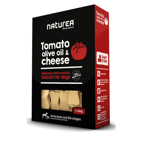 Naturea Biscuits Tomato, Olive oil & Parmesan cheese