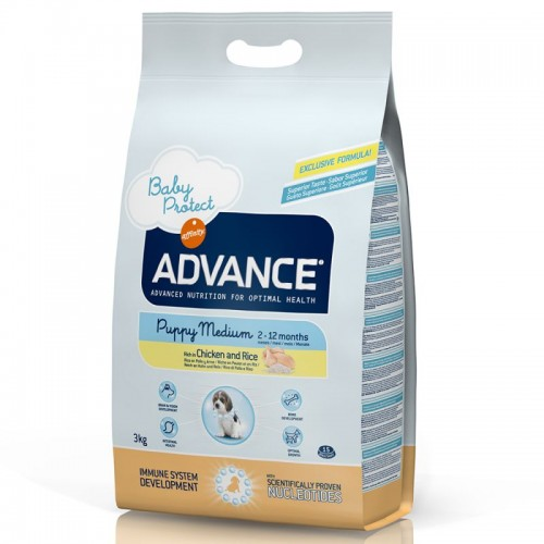 ADVANCE MEDIUM  PUPPY PROTECT CHICKEN & RICE