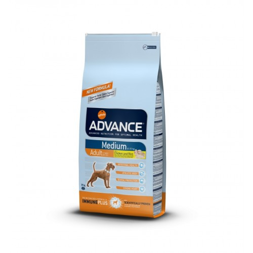 ADVANCE MEDIUM  ADULT CHICKEN & RICE