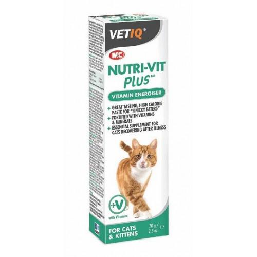 VETIQ - NUTRI VIT PLUS GATO 70gr