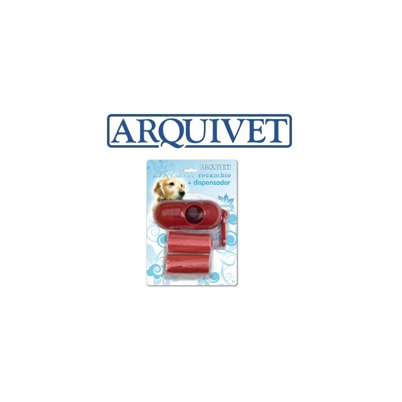 ARQUIVET DISPENSADOR E SACOS PARA DEJECTOS