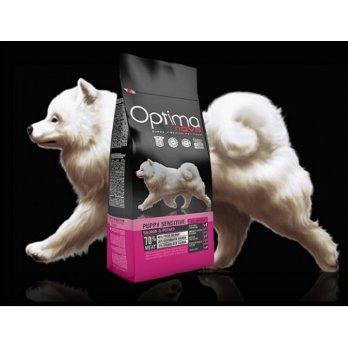 Optima Nova Puppy Sensitive Salmão & Batata