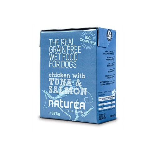 Naturea Chicken With Tuna & Salmon 375grs