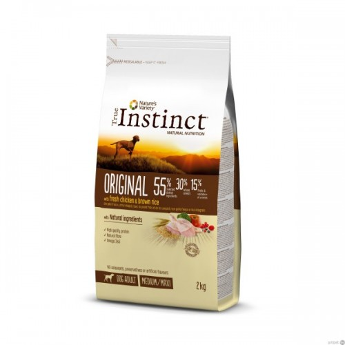 True Instinct Original Medium/Maxi Adult Chicken