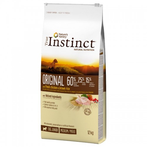 True Instinct Original Medium/Maxi Junior Chicken