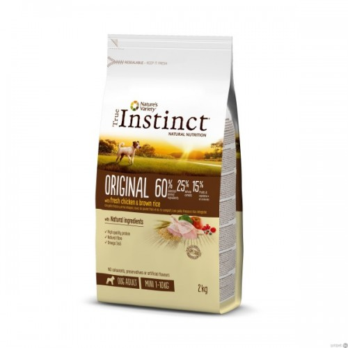 True Instinct Original Mini Adult Chicken