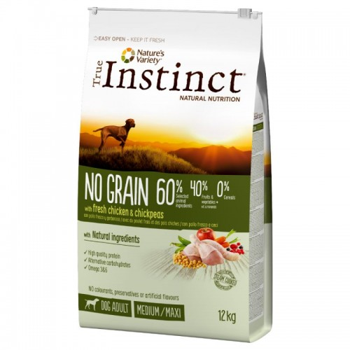 True Instinct No Grain Medium/Maxi Adult Chicken