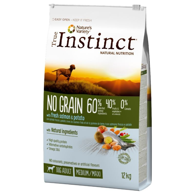 True Instinct No Grain Medium/Maxi Adult Salmon