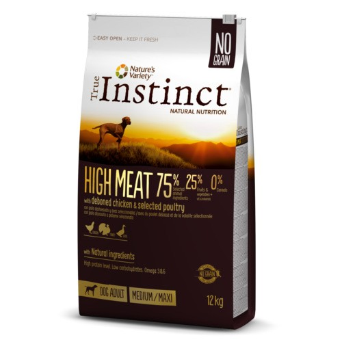 True Instinct High Meat Medium/Maxi Adult Chicken