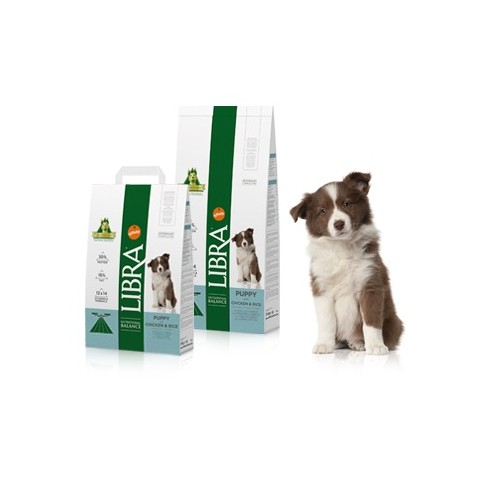 LIBRA PUPPY CHICKEN & RICE 15Kg