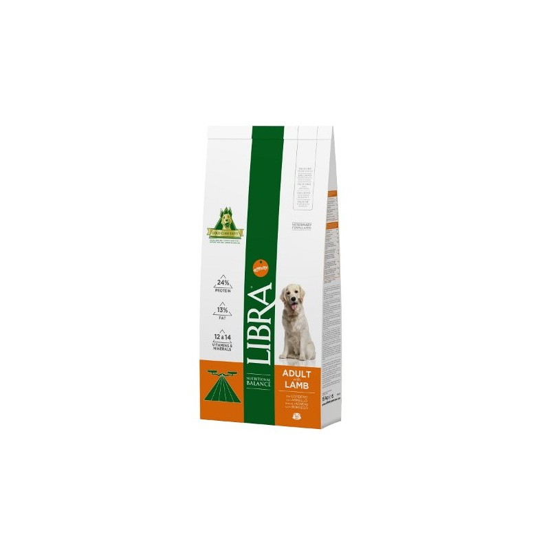 LIBRA ADULT LAMB & RICE 15Kg