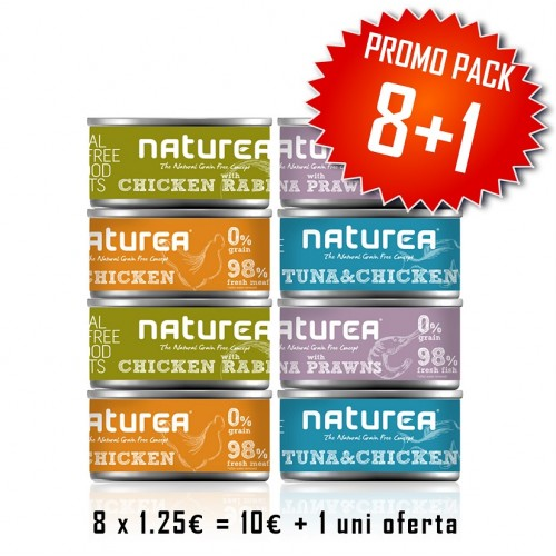 Naturea Cat Wet Food Promo Pack