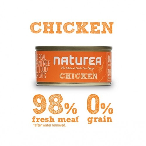Naturea Chicken 80grs