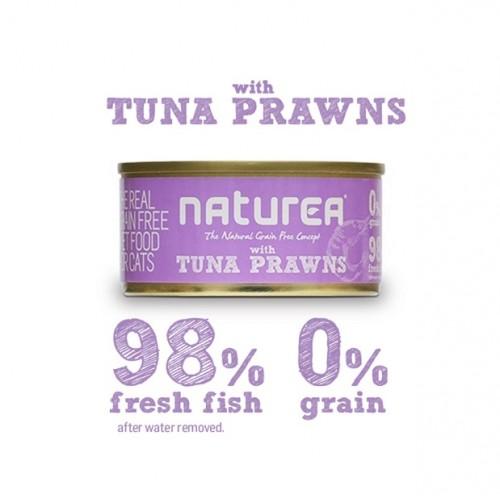 Naturea Tuna & Prawns 80grs
