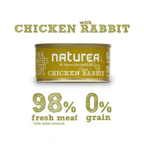 Naturea Chicken with Rabbit 80grs