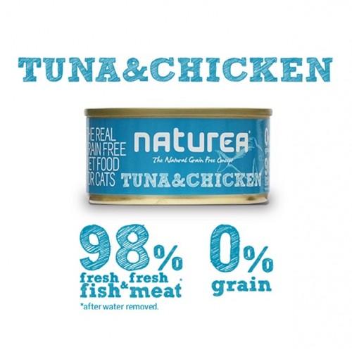 Naturea Tuna & Chicken 80grs