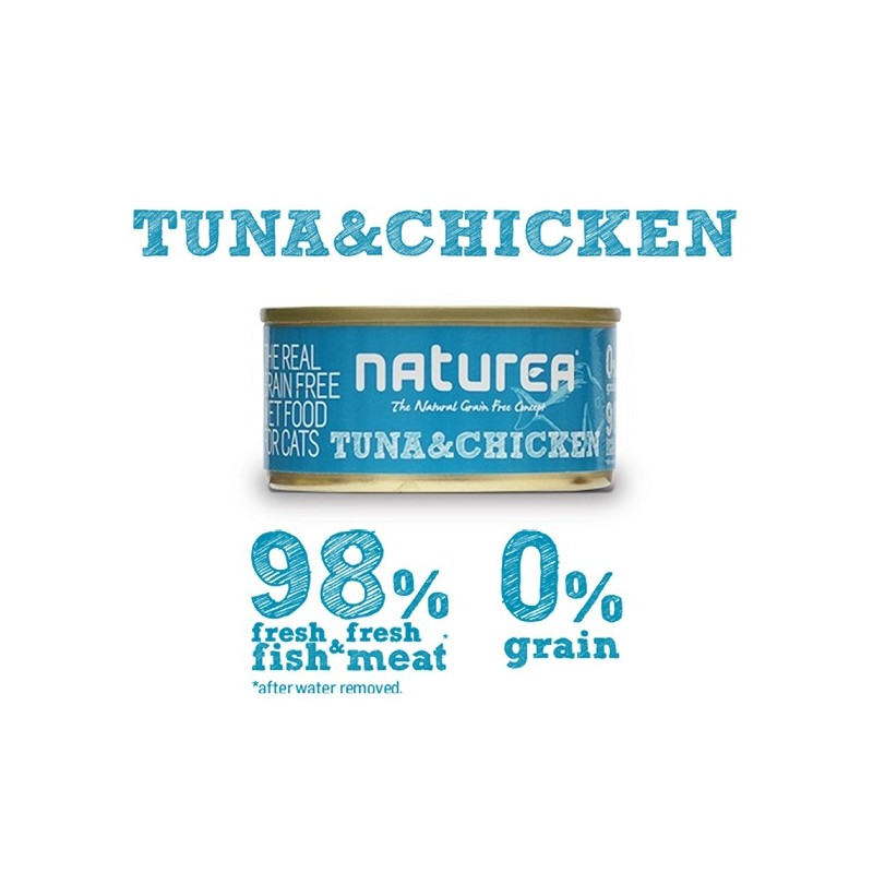 Naturea Tuna & Chicken 80grs