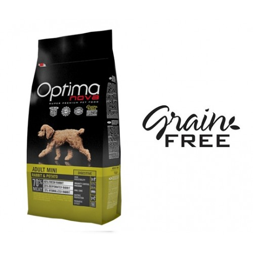 Optima Nova Mini Adult Coelho & Batata