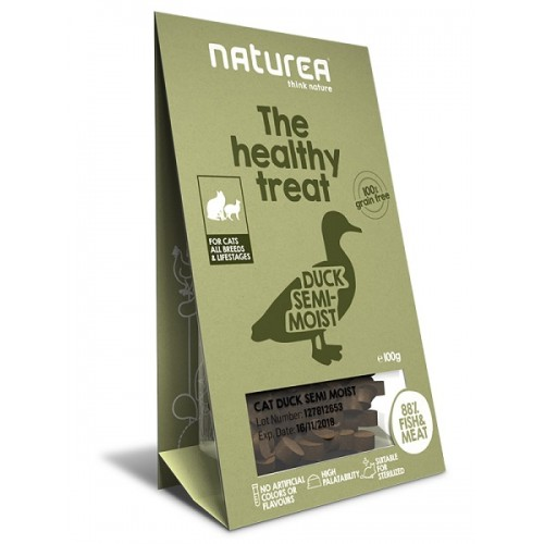 Naturea Treats for Cats Duck