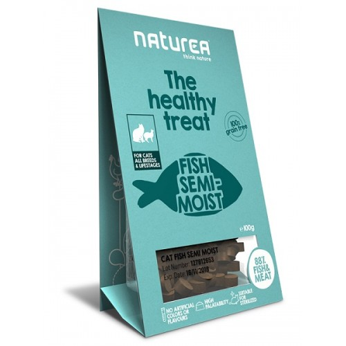 Naturea Treats for Cats Fish
