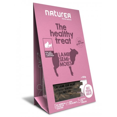 Naturea Treats for Cats Lamb