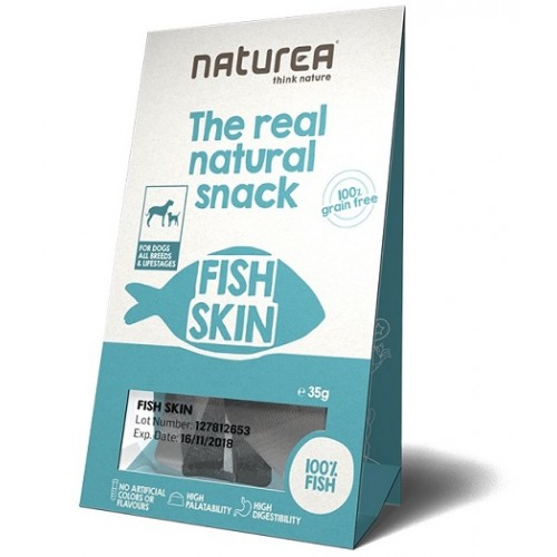 Naturea Snacks for Dogs Fish Skin