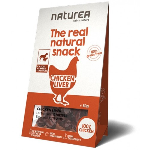 Naturea Snacks for Dogs Chicken Liver