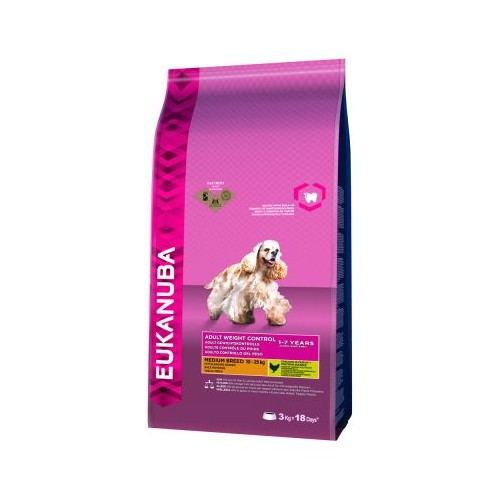 Eukanuba Medium Breed Weight Control