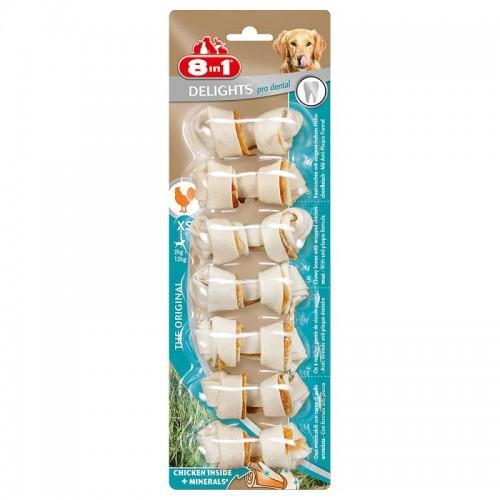 8in1 Delights Pro Dental Bone XS