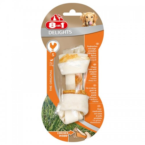 8in1 Delights Chicken Bone S
